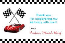 Aidans Ferrari F1 Birthday Party Musings of a Mom