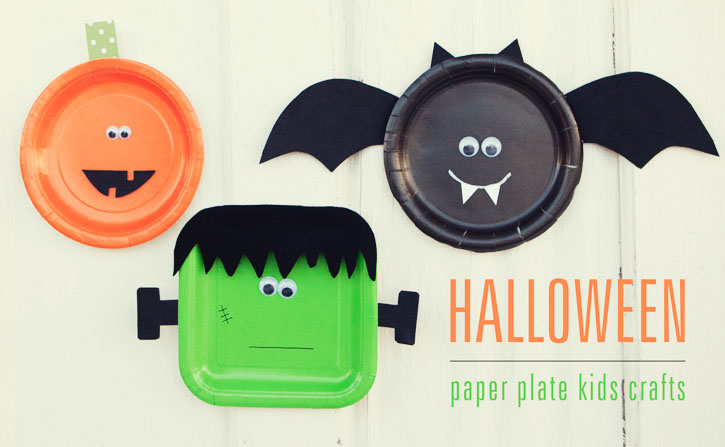 Happy Halloween Musings Of A Mom. Paper Plate Alien Monster Mask ... & Interesting Paper Plate Halloween Masks Photos - Best Image Engine ...